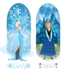 Anna And Elsa of Arendelle