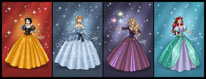 Disney Princess Gown Redesigns