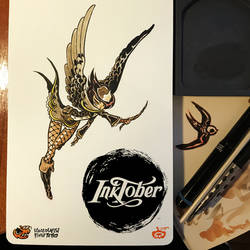 INKTOBER is starting now !