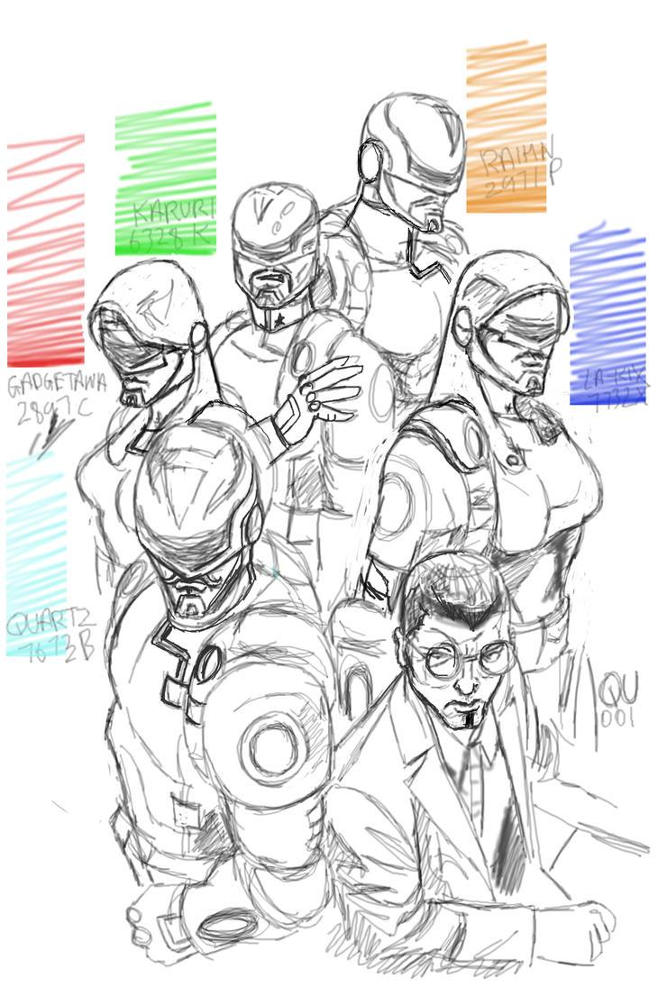 Sketch of M5 by Khaleel100