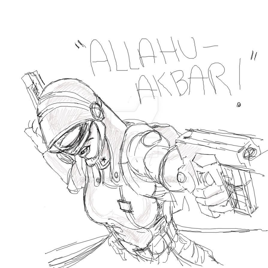 Gadgetana 'Allahu Akbar' by Khaleel100