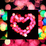 lights heart