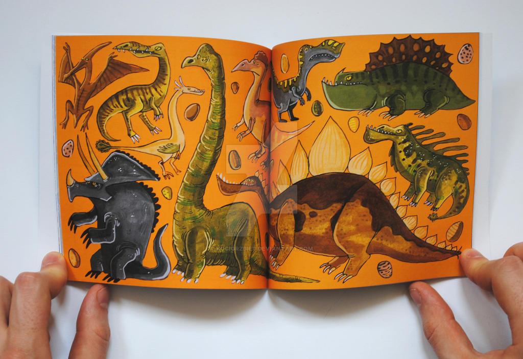 Dinosaur by KociGrzbiet