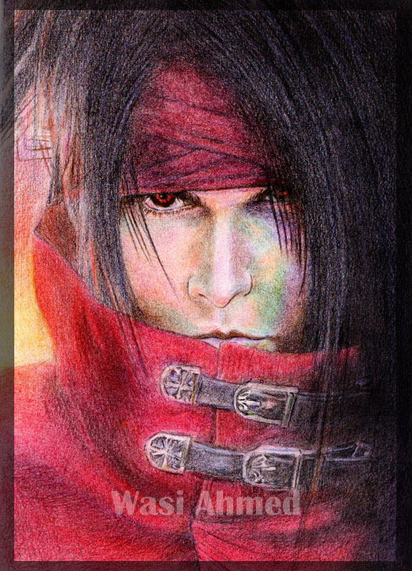 Vincent Valentine by electrifeir4