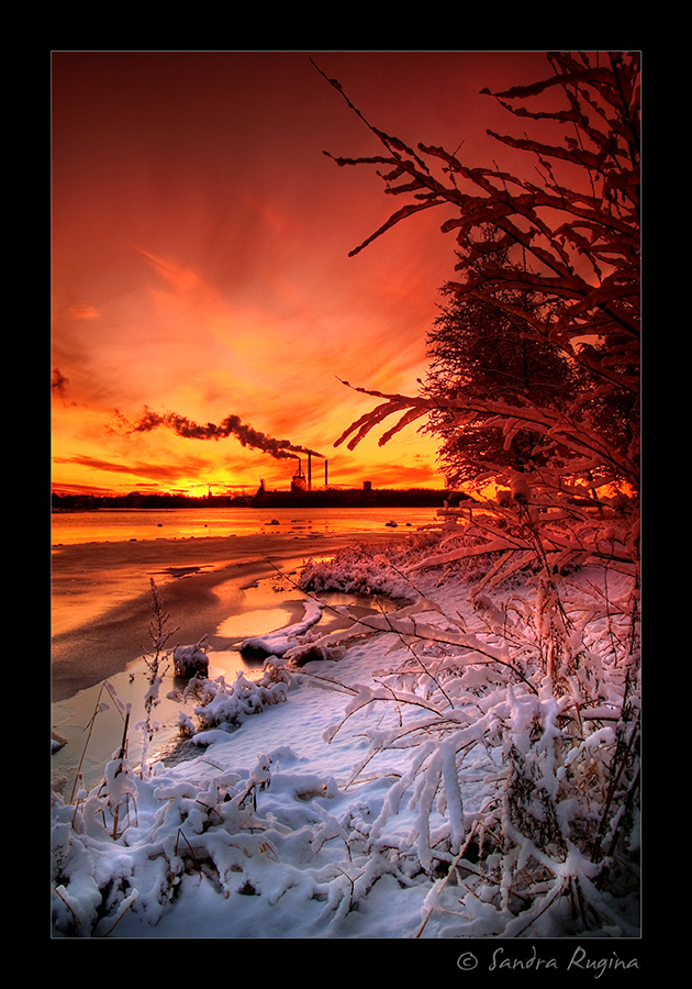 Winter colours by Behindmyblueeyes