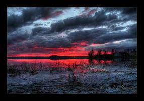 Night on fire by Behindmyblueeyes
