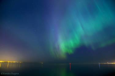 Northern Lights by Behindmyblueeyes