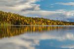 Lake reflection by Behindmyblueeyes