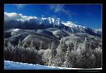 Bucegi Mountain Range by Behindmyblueeyes