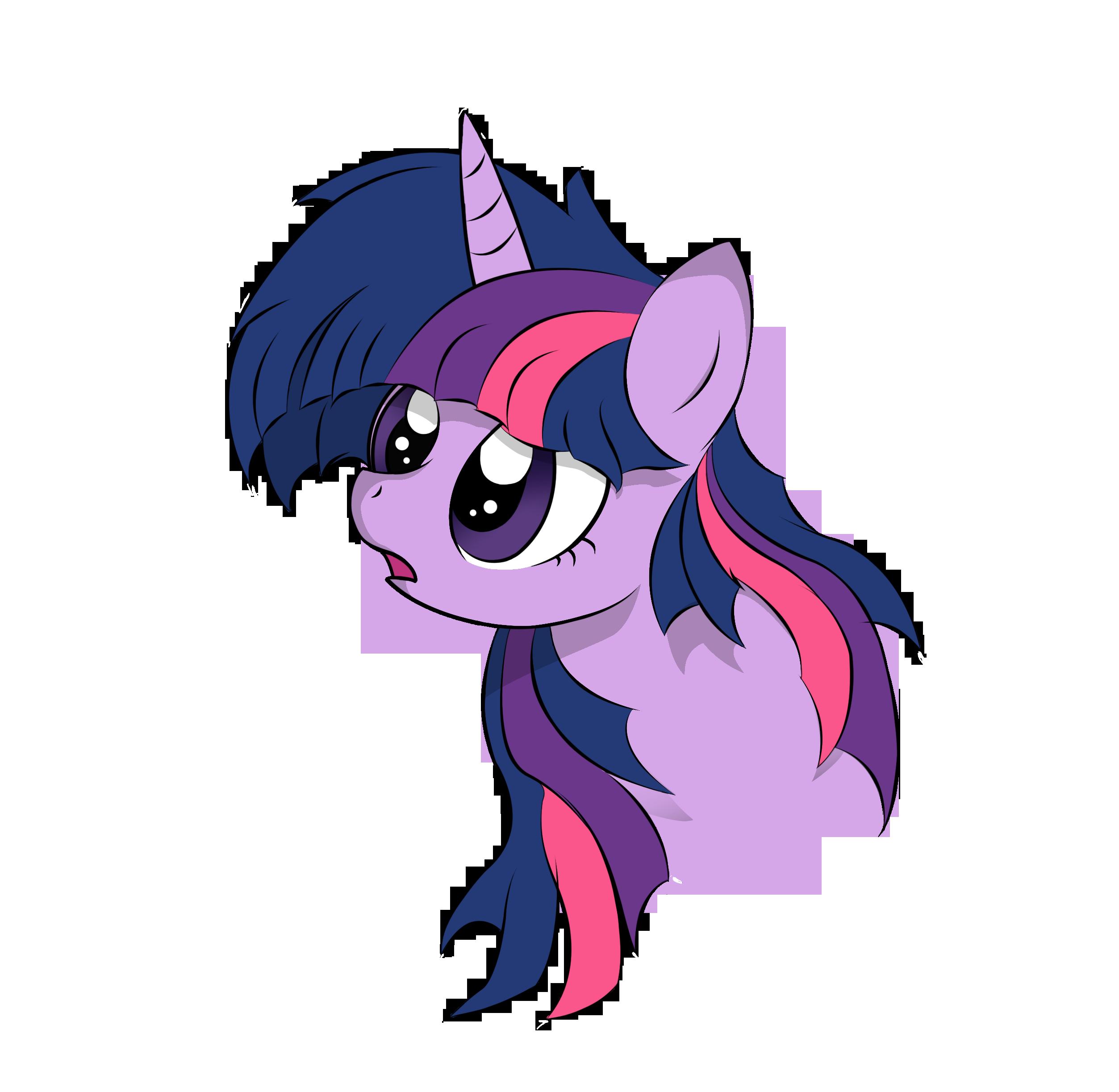Twilight Sparkle wondering by V-D-K