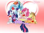 My little Valentine's Day