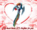 Rainbow Dash eternal love