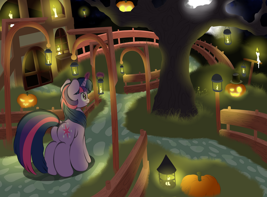 Take a walk on Nightmare Night by V-D-K