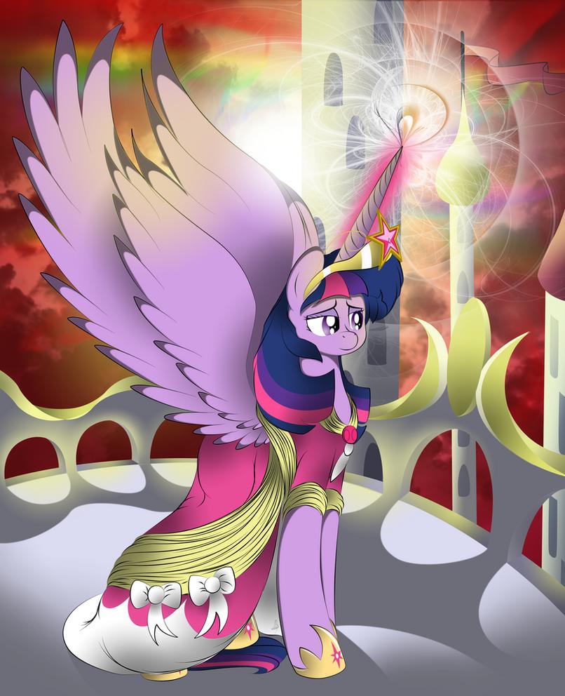 Princess Twilight Sparkle by V-D-K