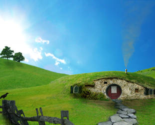 Somewhere in the Shire by T-h-e-Ocean