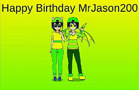 Happy Birthday MrJason200 :D by OnpuSegawaIsCutie