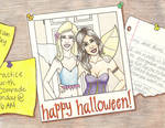 Rose and Lissa's Halloween