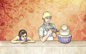 Falling in Love in a Bakery by achelseabee