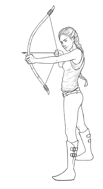 Katniss Everdeen From The Hunger
