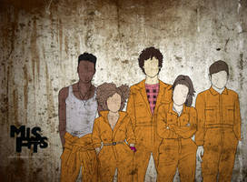 Misfits Wallpaper by achelseabee