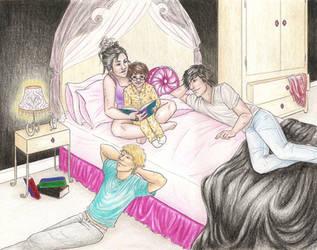 Bedtime Reading by achelseabee