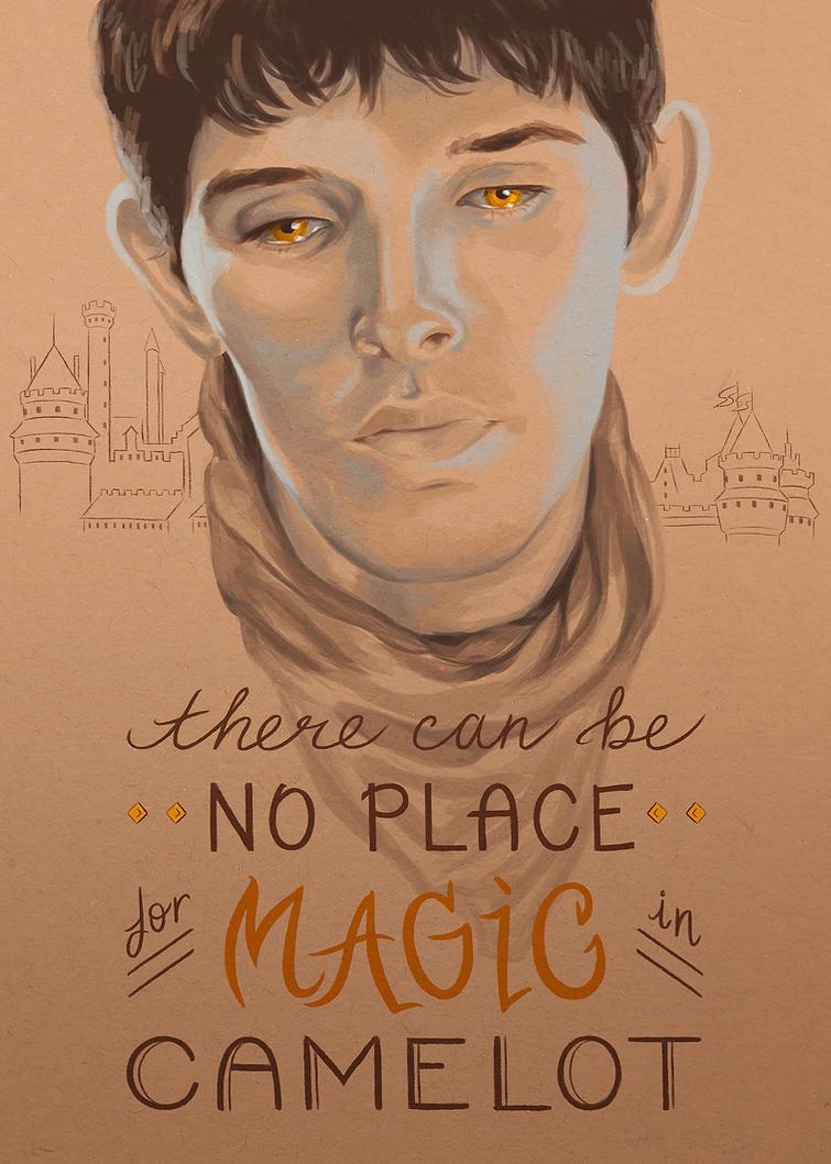 Merlin's Sacrifice by achelseabee