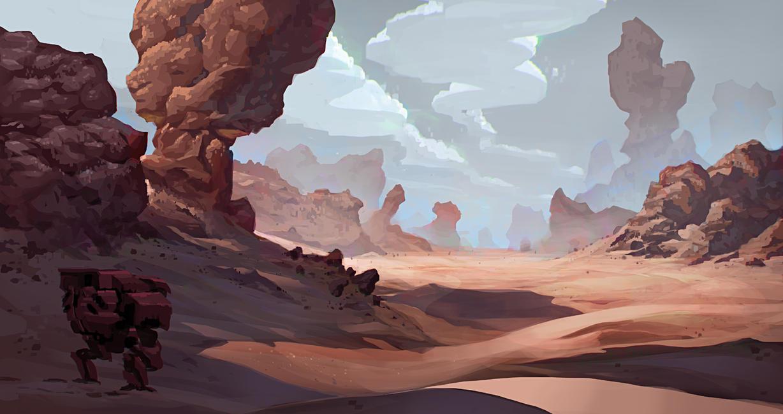 The Long Road Ahead by AlexKonstad