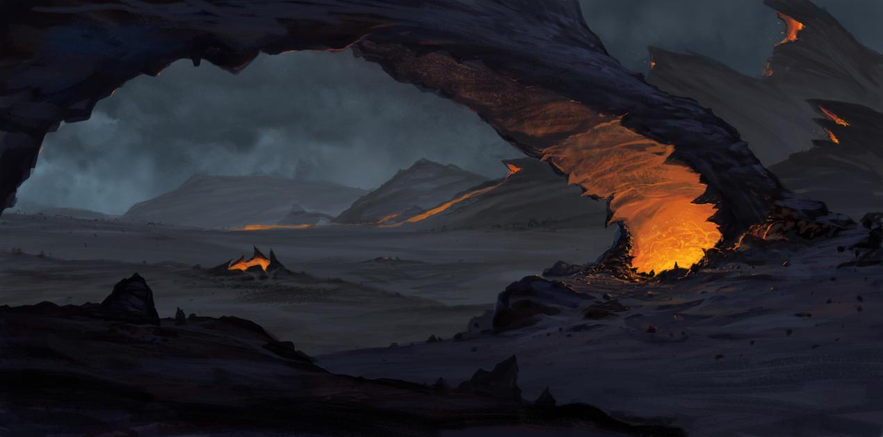 The Infernal Gate by AlexKonstad