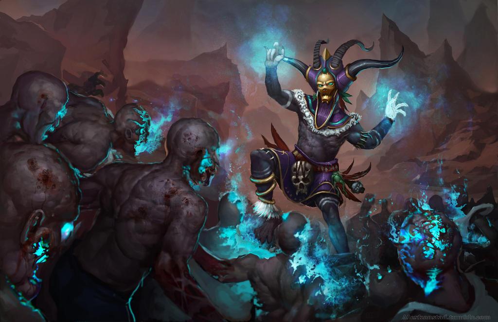 Diablo 3 Witch Doctor Showdown by AlexKonstad