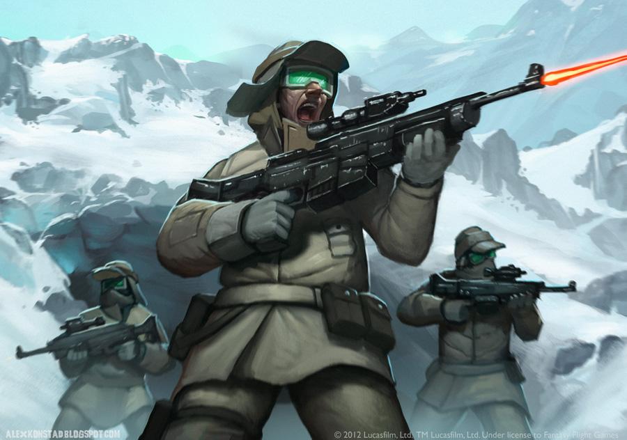 Star Wars: Echo Defender by AlexKonstad