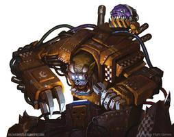 Warhammer 40k Ork Tinkerer by AlexKonstad