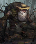 The Old Swamp Hermit