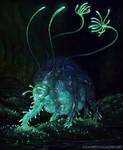 Bio Luminescent Cave Dweller