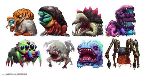 Instagram Monsters! by AlexKonstad