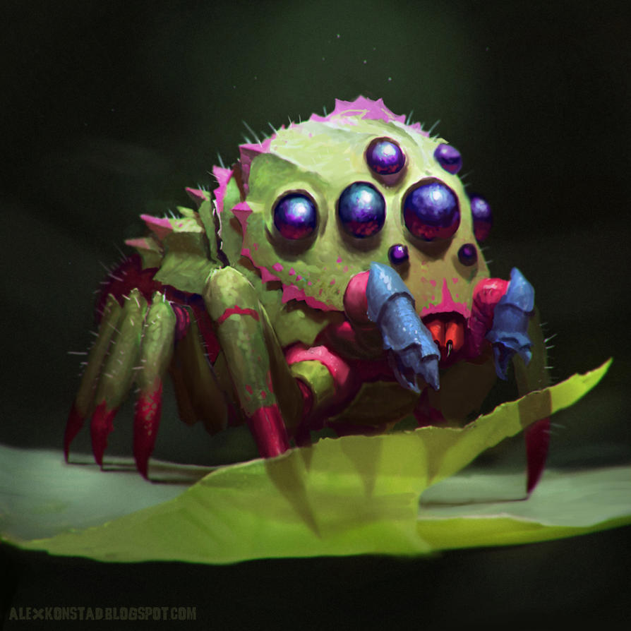 Northridge Arboreal Jumping Spider by AlexKonstad