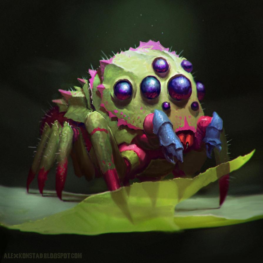 Northridge Arboreal Jumping Spider by AlexKonstad
