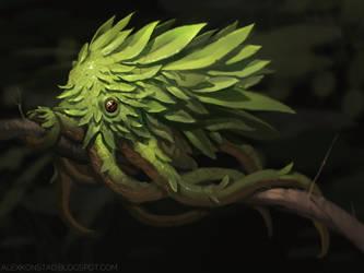 Leaf Octopus by AlexKonstad