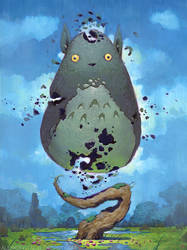 Pieces of Totoro by AlexKonstad