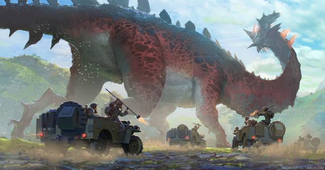 Megasaur Poachers
