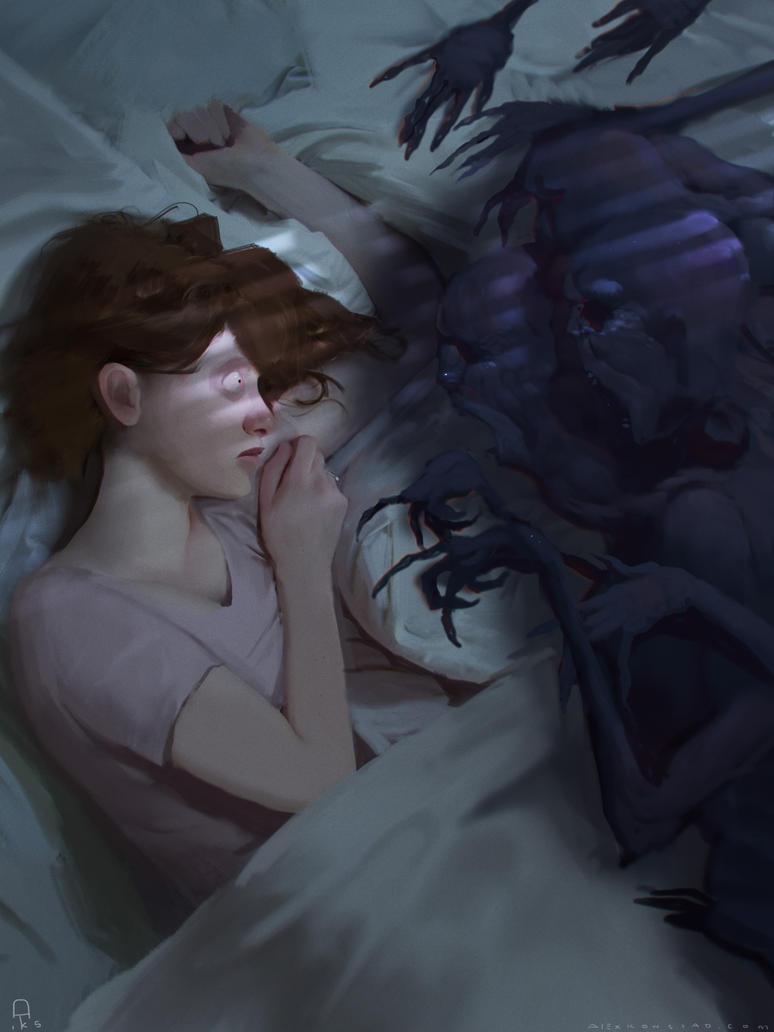 the concept of sleep paralysis