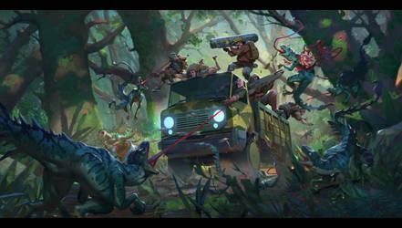 Forest Encounter by AlexKonstad