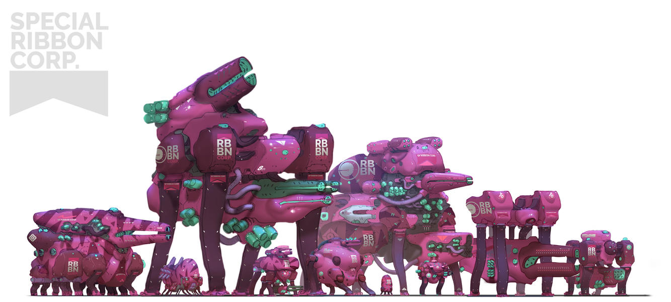 Genesis Wars - SP. Ribboon Corp. by AlexKonstad