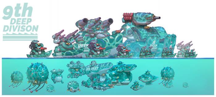 Genesis Wars - 9th Deep Division