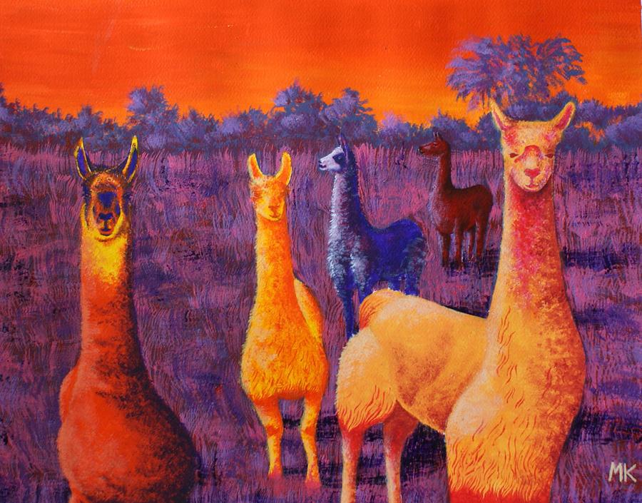llama by monsieur-arlequin