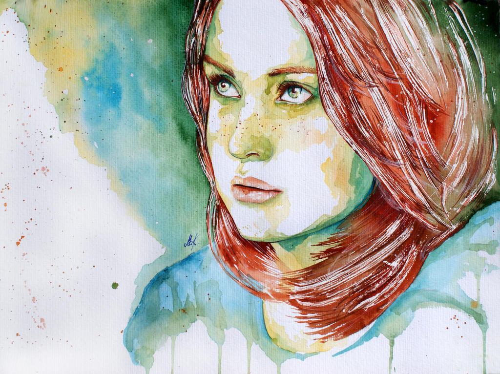 Agnieszka by monsieur-arlequin