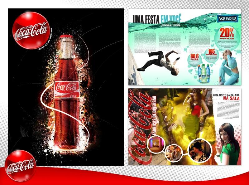 mundo coca-cola by mozzzca