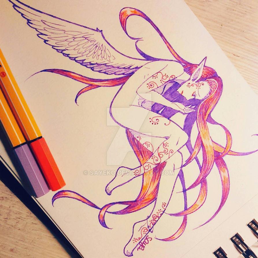 Little Angel  by sayeko