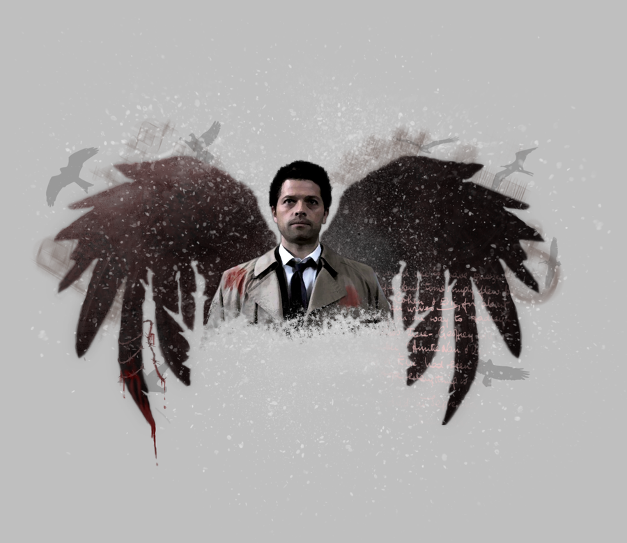 Castiels Wings By Sweet92590