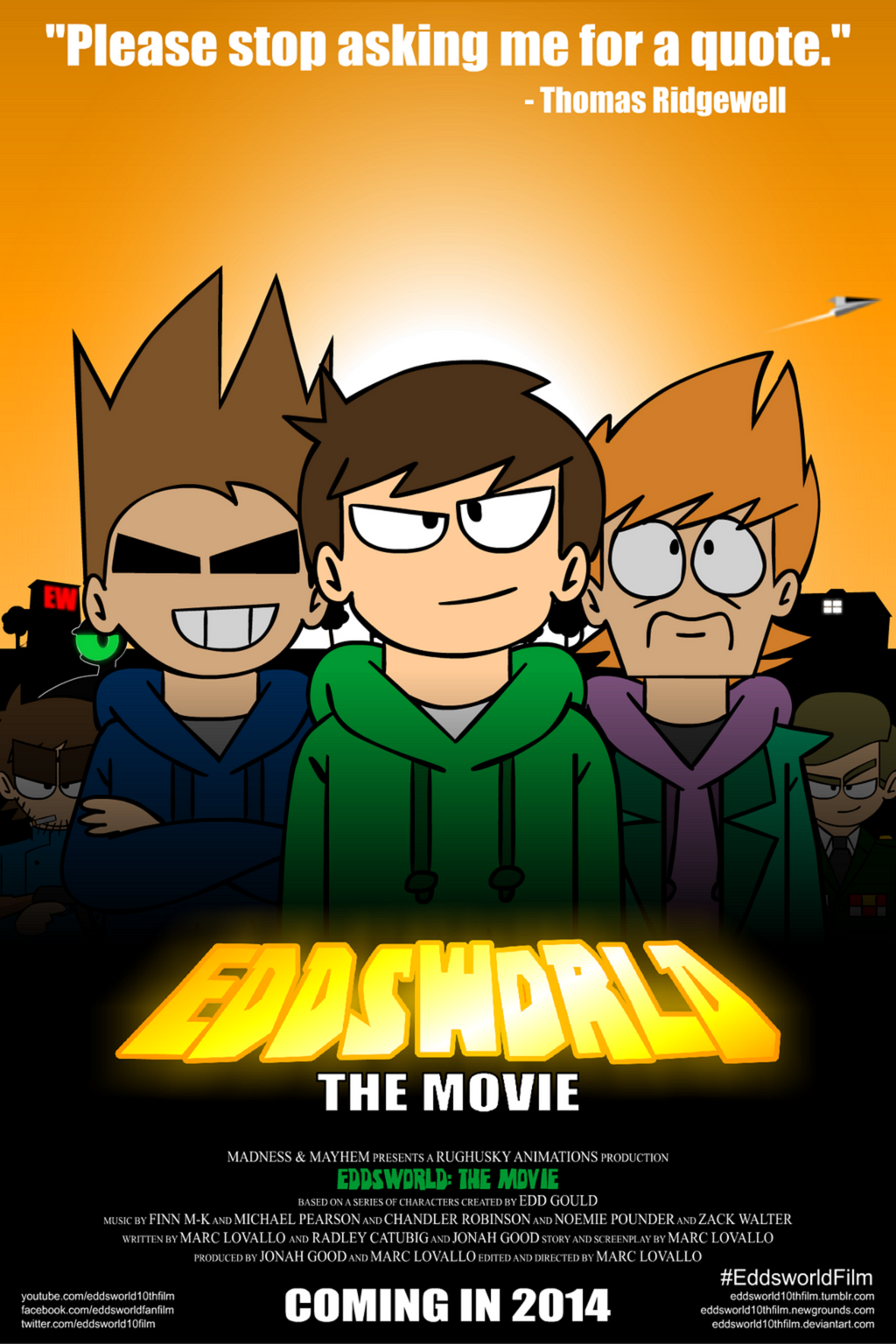 Eddsworld: The Movie - Official Poster #2 by SuperSmash3DS