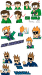 Eddsworld: The Movie - Character Sketches by SuperSmash3DS